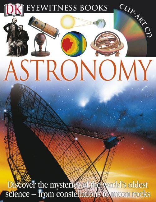 Hardback cover of DK Eyewitness Books: Astronomy