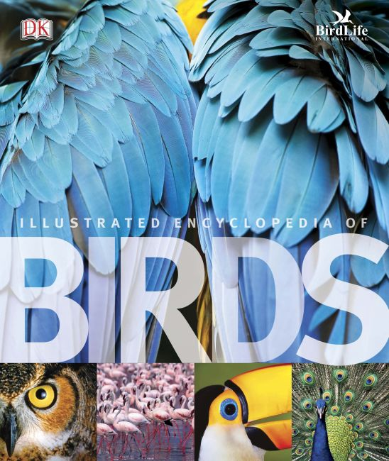 Hardback cover of The Illustrated Encyclopedia of Birds