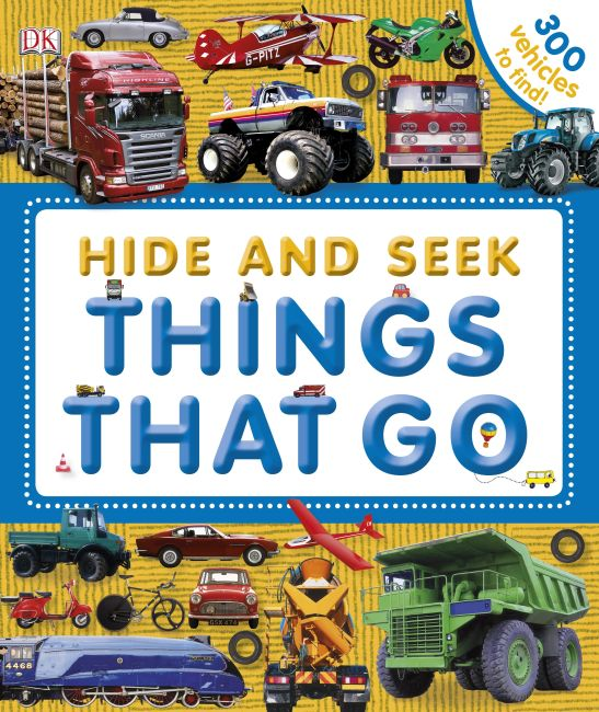 eBook cover of Hide and Seek: Things That Go