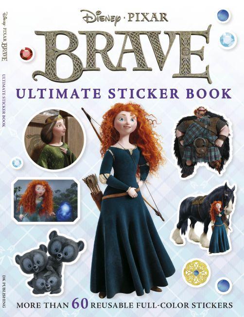 Paperback cover of Ultimate Sticker Book: Brave