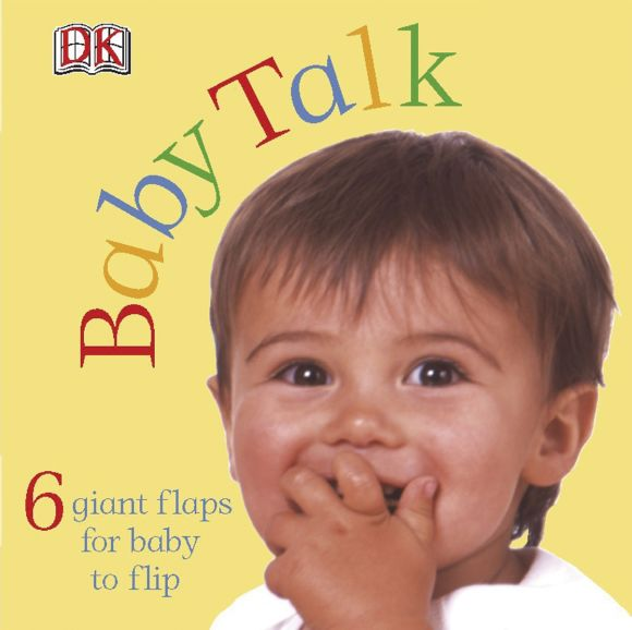 Board book cover of FUN FLAPS: Baby Talk