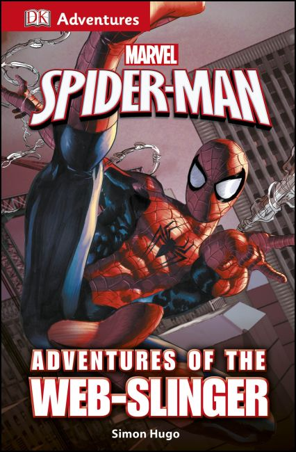 eBook cover of DK Adventures: Marvel's Spider-Man: Adventures of the Web-Slinger