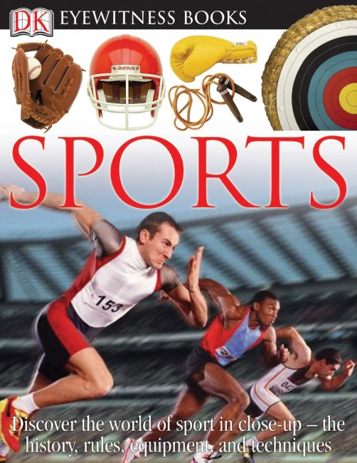 Hardback cover of DK Eyewitness Books: Sports