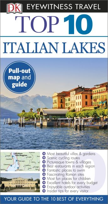 Paperback cover of Top 10 Italian Lakes