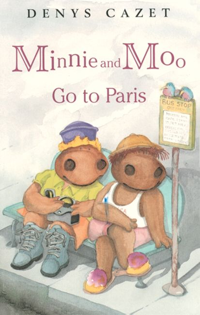 Paperback cover of Minnie and Moo Go to Paris