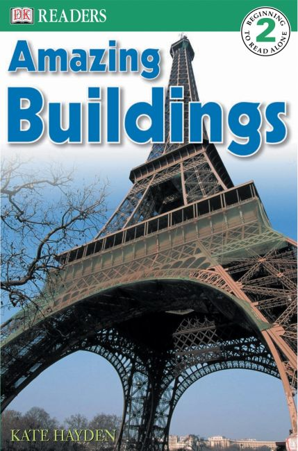 Paperback cover of DK Readers L2: Amazing Buildings