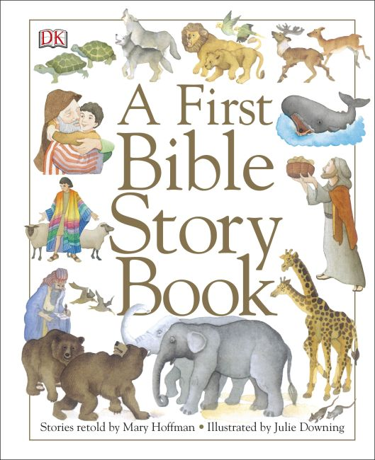 eBook cover of A First Bible Story Book