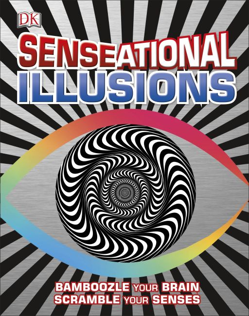 Hardback cover of SENSEational Illusions