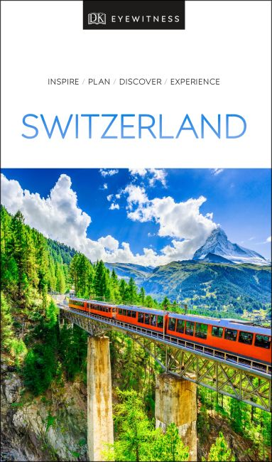 Paperback cover of DK Eyewitness Travel Guide Switzerland