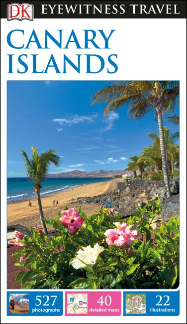 Flexibound cover of DK Eyewitness Travel Guide Canary Islands