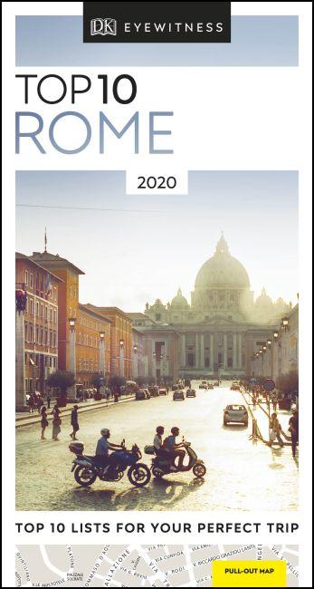 Paperback cover of DK Eyewitness Top 10 Rome
