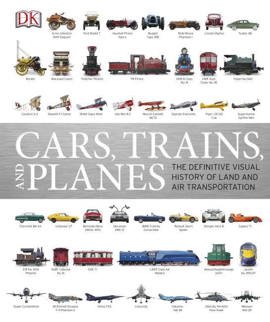 Hardback cover of Cars, Trains, and Planes