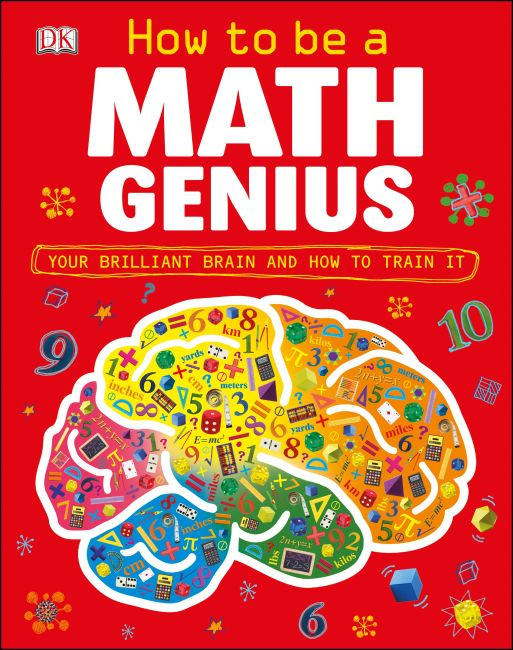 Hardback cover of How to Be a Math Genius