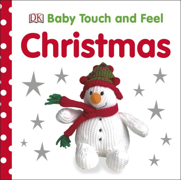 Board book cover of Baby Touch and Feel Christmas