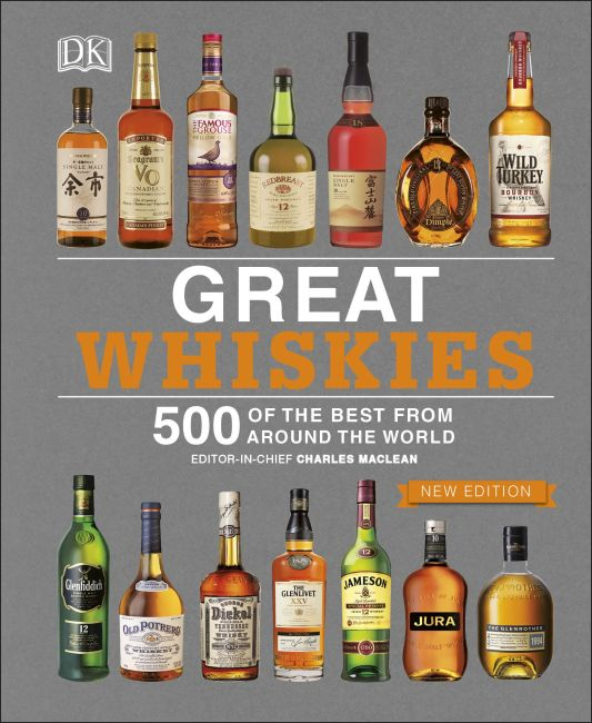 Hardback cover of Great Whiskies