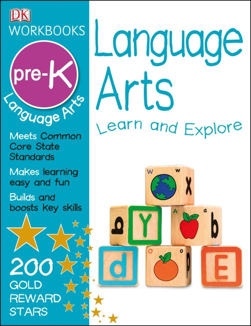 Paperback cover of DK Workbooks: Language Arts, Pre-K