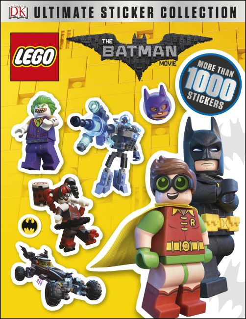 Paperback cover of The LEGO® BATMAN MOVIE Ultimate Sticker Collection