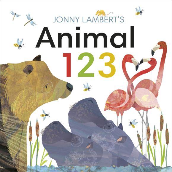 Board book cover of Jonny Lambert's Animal 123