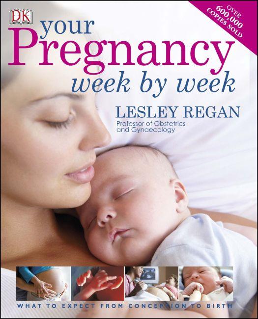 Hardback cover of Your Pregnancy Week by Week
