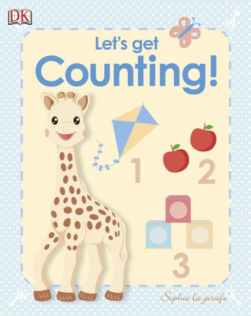 Board book cover of My First Sophie la girafe: Let's Get Counting!