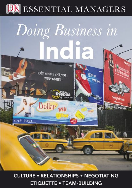 eBook cover of Doing Business in India