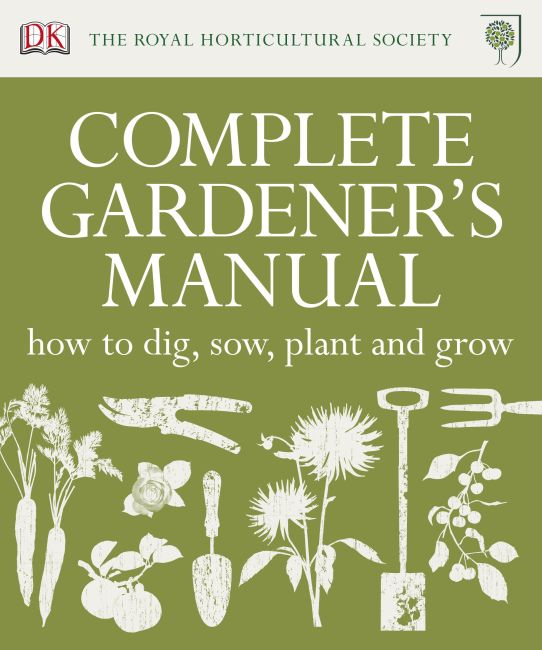 Hardback cover of RHS Complete Gardener's Manual