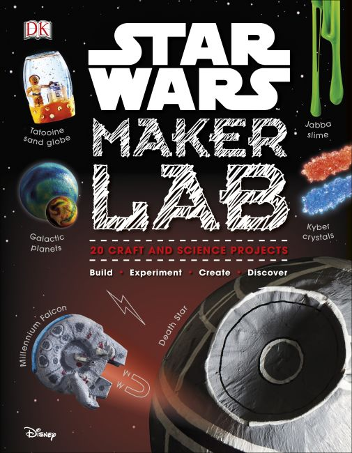 Hardback cover of Star Wars Maker Lab
