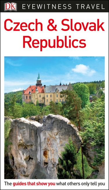 Flexibound cover of DK Eyewitness Travel Guide Czech and Slovak Republics