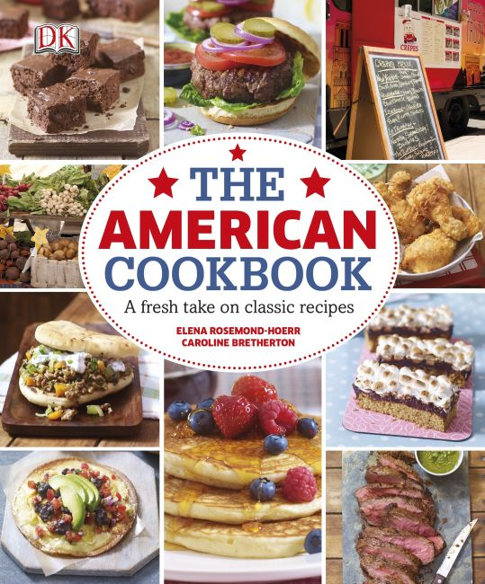 eBook cover of The American Cookbook: A Fresh Take on Classic Recipes