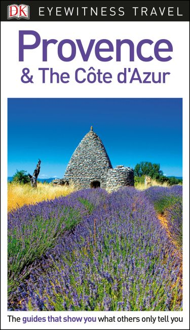 Flexibound cover of DK Eyewitness Travel Guide Provence and the Côte d'Azur