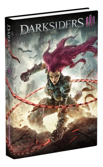 Hardback cover of Darksiders III