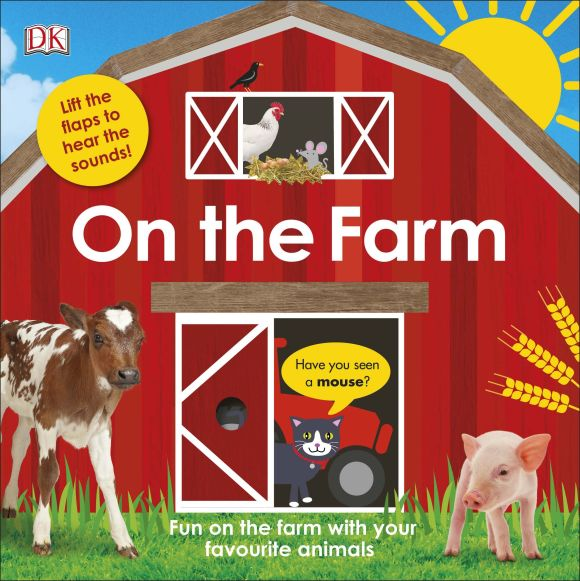 Board book cover of On The Farm