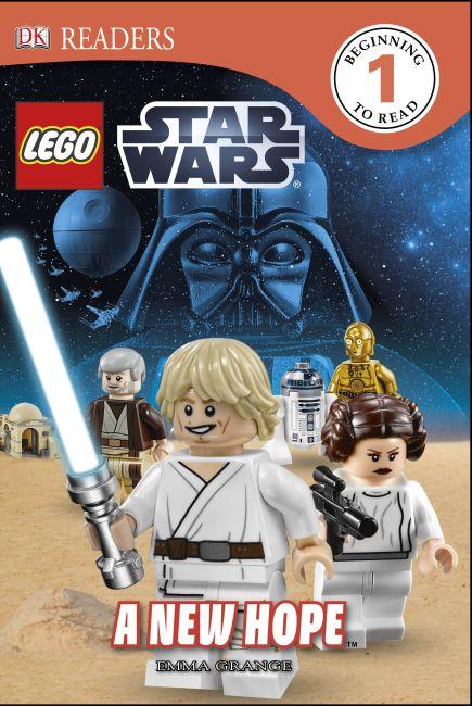 Hardback cover of DK Readers L1: LEGO® Star Wars A New Hope
