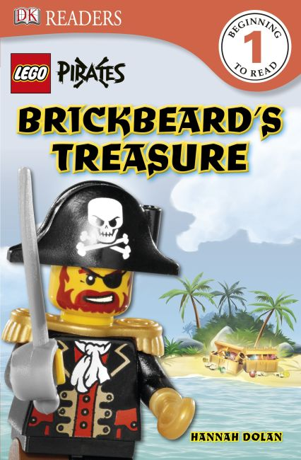 eBook cover of DK Readers L1: LEGO® Pirates: Brickbeard's Treasure