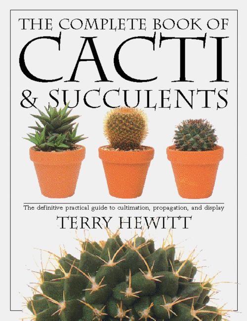 Paperback cover of The Complete Book of Cacti & Succulents