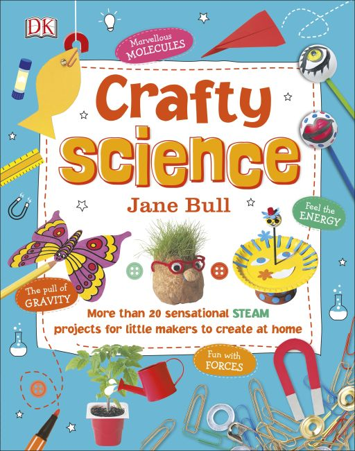 Hardback cover of Crafty Science