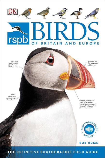 Paperback cover of RSPB Birds of Britain and Europe