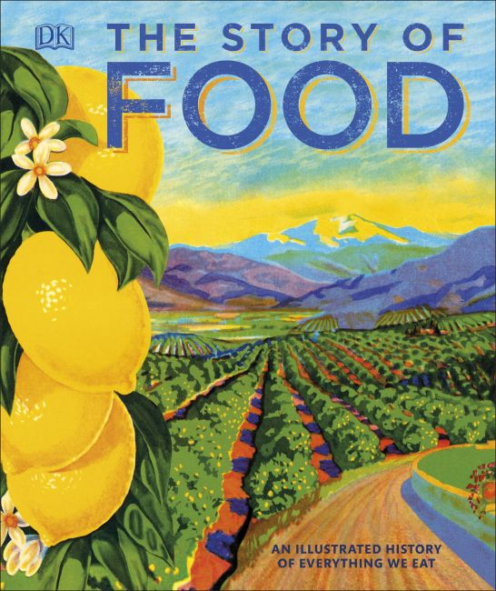 Hardback cover of The Story of Food