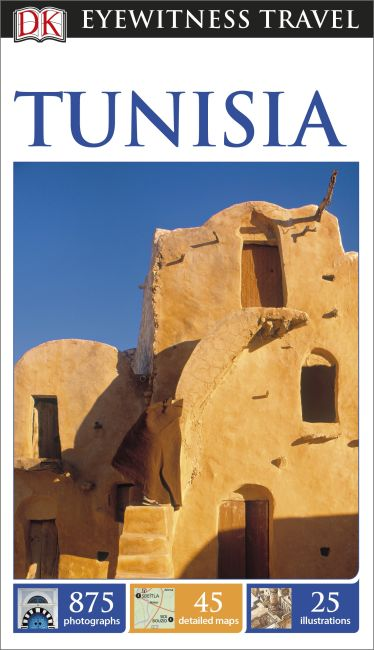 eBook cover of DK Eyewitness Travel Guide Tunisia