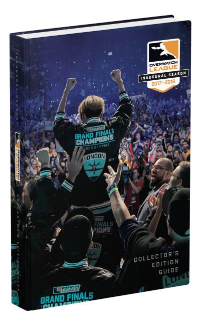 Hardback cover of Overwatch League