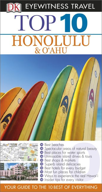 eBook cover of Top 10 Honolulu and O'ahu