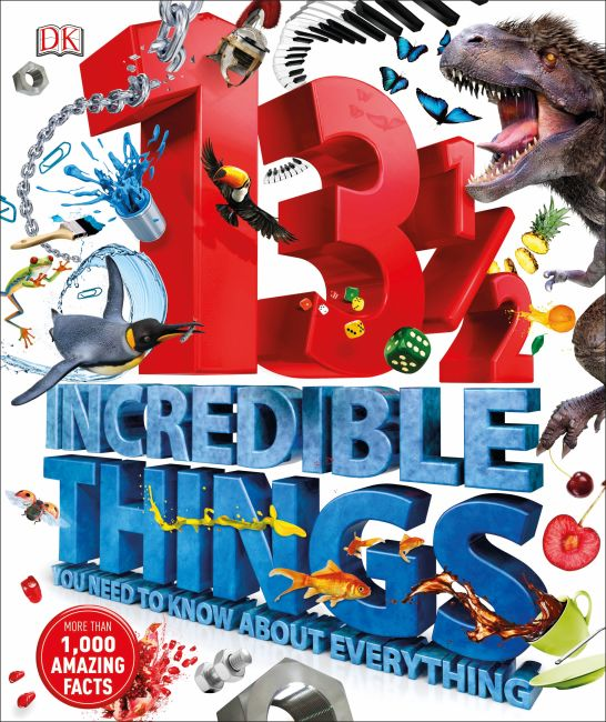 Hardback cover of 13½  Incredible Things You Need to Know About Everything