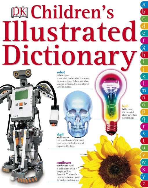 eBook cover of Children's Illustrated Dictionary