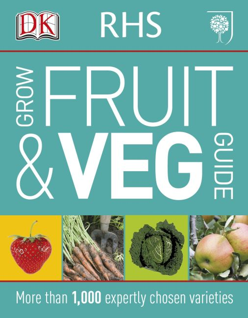 Paperback cover of RHS Grow Fruit and Veg