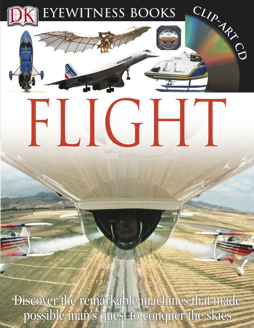 Hardback cover of DK Eyewitness Books: Flight