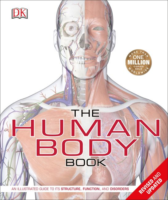 Hardback cover of The Human Body Book