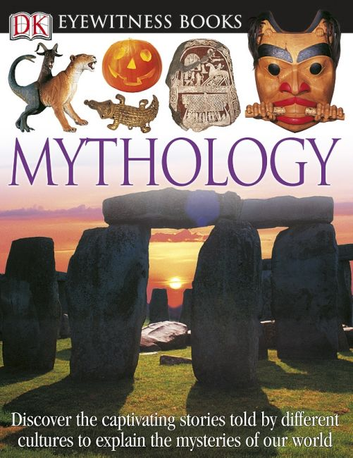 eBook cover of DK Eyewitness Books: Mythology