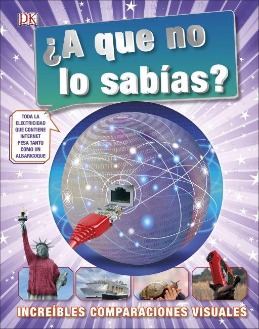 Hardback cover of ¿A que no lo sabías?