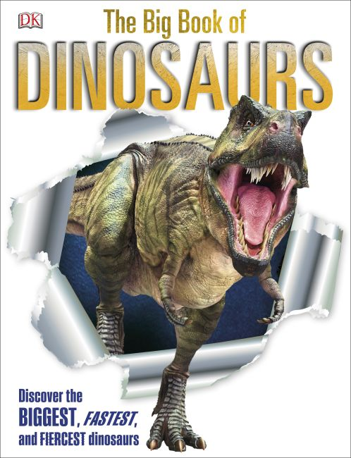 Hardback cover of The Big Book of Dinosaurs