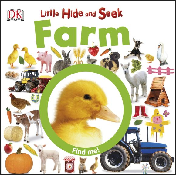 eBook cover of Little Hide and Seek Farm